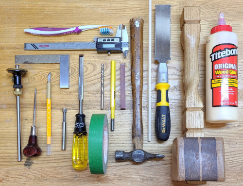 Reinforced Miter Joint Tool List
